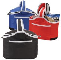 Insulated Lunch Bag w/ Hot & Cold Compartments - Munchie