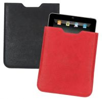 iPad Cover w/ Padded Suede Lining - Faux Leather