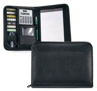 Junior Padfolio w/ Calculator & Multi Function Organizer - Focus