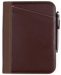Junior Padfolio w/ Multi-Function Organizer - Cedar