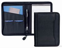 Junior Padfolio w/ Organizer Pocket & Pen Loop - Faux Leather