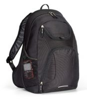 "Laptop Backpack w/ Zip Pockets - 15.4"" Sleeve - Quest"