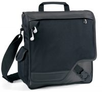 "Laptop Portfolio Bag w/ 11.5"" Sleeve & MP3 Player Pocket"