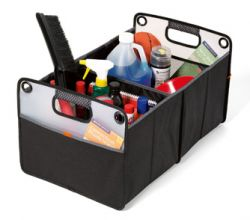 Large Trunk Organizer w/ Dividers - Collapsible - Life in Motion