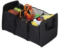 Large Trunk Organizer w/ Three Compartments - Collapsible