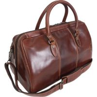 Leather Duffle Bag w/ Tablet Pocket - Canyon Outback Niagara