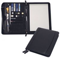 Leather E-Padfolio w/ Multi Function Organizer - Bellino