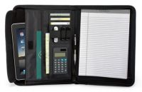 Leather E-Padfolio w/ Multi Function Organizer - Vintage