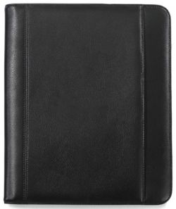 Leather E-Padfolio w/ Scratch-Resistant Lining - Travis & Wells