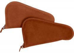 Leather Handgun Bag - Single Pistol - Canyon Outback