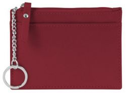 Leather ID Holder w/ Key Ring & Card Slots - Andrew Philips