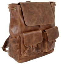 Leather Laptop Backpack - Andrew Philips Westbridge