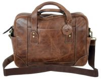 Leather Laptop Briefcase - Andrew Philips Westbridge