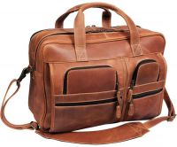 Leather Laptop Briefcase - Canyon Outback Casa Grande