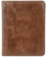 Leather Padfolio w/ Tablet Pocket - Andrew Philips Westbridge