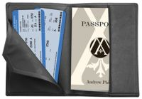 Leather Passport Holder - RFID Blocking - By Andrew Philips
