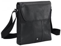 Leather Tablet Portfolio Bag w/ Magnetic Closure - Bellino