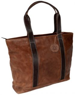 Leather Tote Bag - Two Tone - Andrew Philips Westbridge