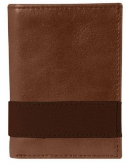 Men's Leather Wallet - Tri Fold - Andrew Philips Westbridge