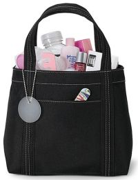 Mini Shopping Tote Bag w/ Front Pocket - Piccolo