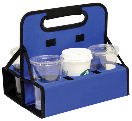 Reusable Drink Carrier 6 Cups Multiple Colors