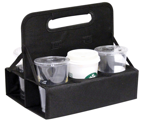 Reusable Drink Carrier 6 Cups Multiple Colors