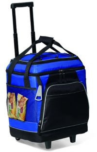 Rolling Cooler w/ Top & Bottom Insulated Sections - Islander