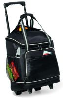 Rolling Cooler w/ Top Pocket & Velcro Opening - Harbor