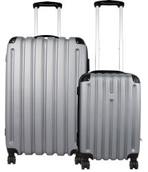 Rolling Luggage w/ 360º Swivel Wheels - Hardside Set