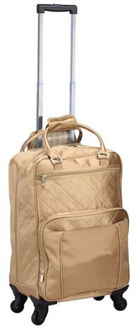 Rolling Luggage w/ 360 Degree Swivel Wheels - Savvy