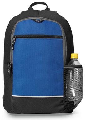 School Backpack W Side Mesh Pocket Essence