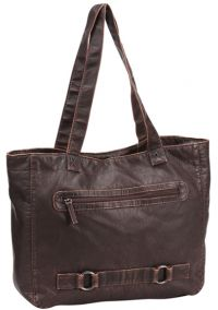 Shopping Tote Bag - Faux Leather - Mason