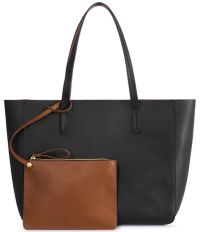 Zippered Tote Bag w/ Removable Wristlet - Bristol