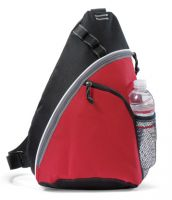 Sling Backpack w/ Water Bottle Pocket - Wave Monopack