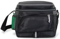 Soft Sided Cooler w/ Mesh Pockets - 210D Polyester - Coastline