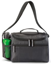 Soft Sided Cooler w/ Water Bottle Pocket - Diamond Accent