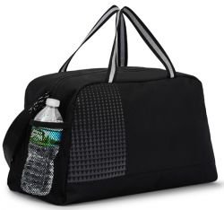 Sport Duffle Bag w/ Water Resistant Zip Closure - Power Play