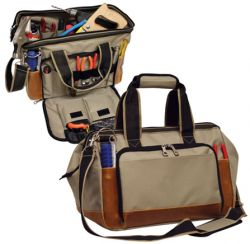 Tool Bag w/ Metal Frame & Ready To Work Station - Carpenter