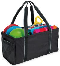 Utility Tote Bag w/ Side Handles & Shoulder Straps