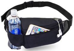 Water Bottle Fanny Pack w/ Earphone Port - Vertex Revive