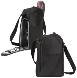 Wine Cooler Bag w/ Glasses & Bottle Opener