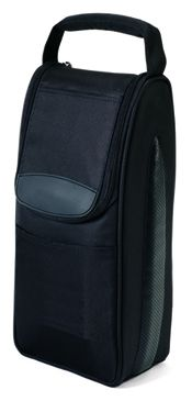 Wine Cooler Bag w/ Padded Divider - 420D Dobby Nylon