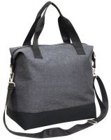 Zippered Polycanvas Tote Bag - Coast Sling